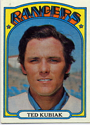 1972 Topps Baseball Cards      023      Ted Kubiak
